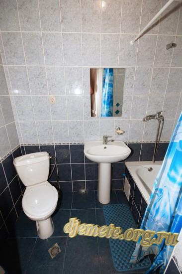"""Джемете гостевой дом """"Виктория"""" санузел с ванной"""