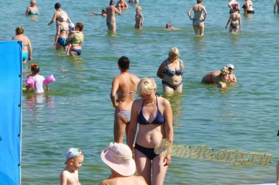 Анапа вторая половина июня Лечебный пляж море