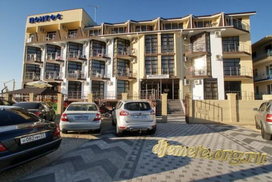 """Отель """"Понтос"""" Анапа п. Витязево"""