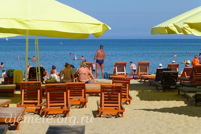 Курорт Анапа городской пляж июнь